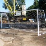Ворота футбольные Размер: 7.3x2.4x1.5m
