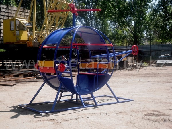 """Вертолет"" Размер: 3.25x1.56x2.2m"