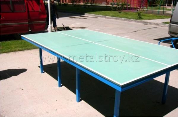 Теннисный стол Размер: 2.5x1.5x0.7m