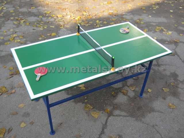 Стол тенисный. Размер: 1360х760х650