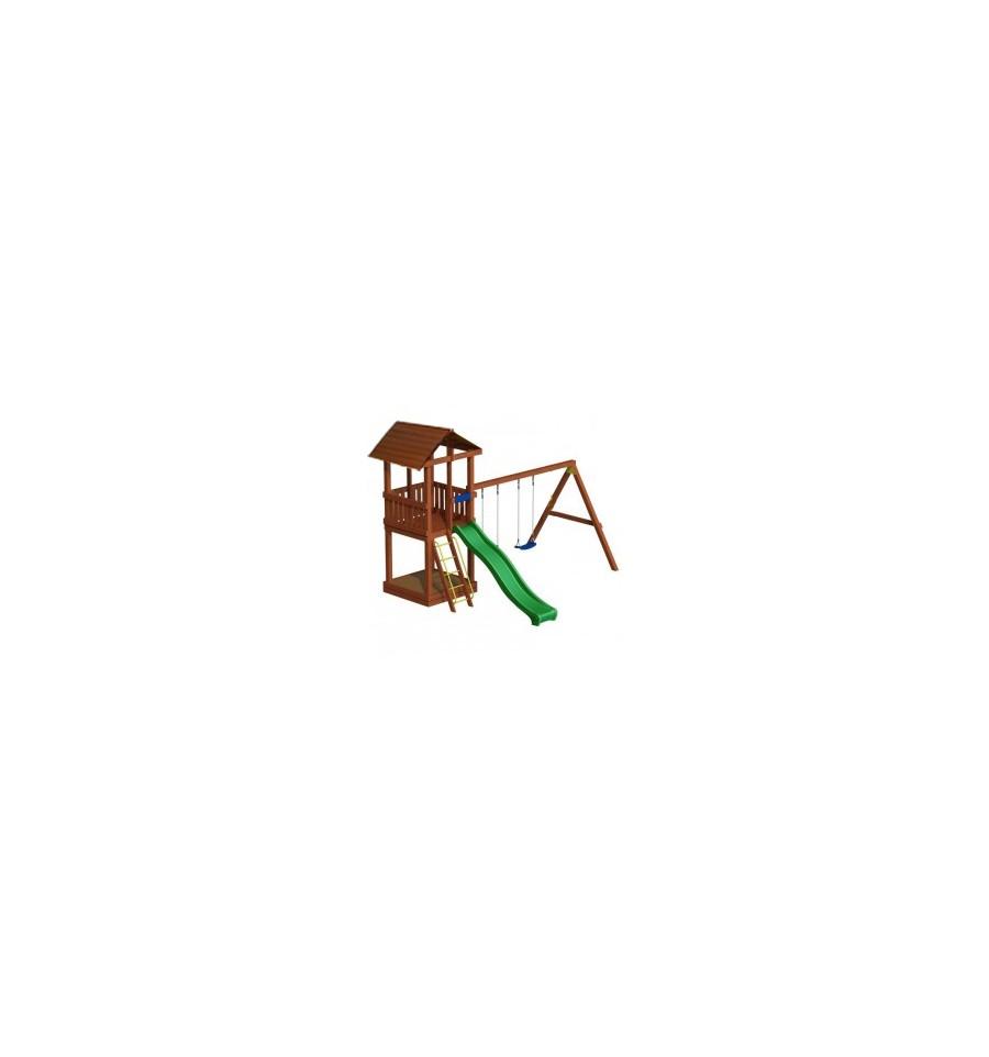 Деревянный детский игровой комплекс, 2704